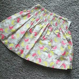 Girls birdie skirt 4t